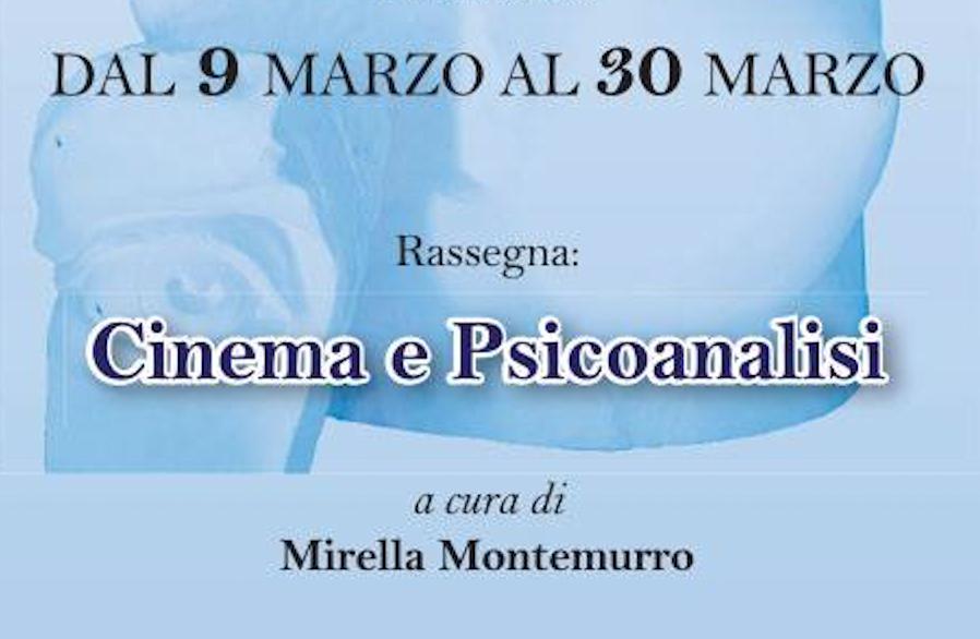 """EVENTO – """"Cinema e Psicoanalisi"""""""