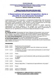 Seminario COIRAG