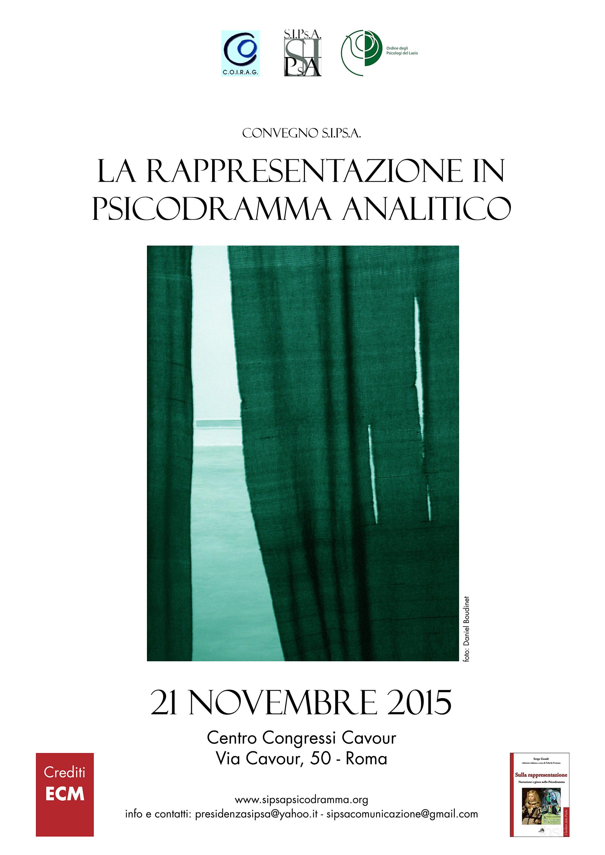 """CONVEGNO SIPsA – """"Convegno Nazionale SIPsA 2015"""""""