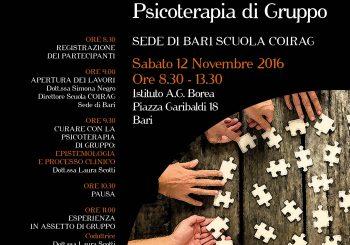 """SEMINARIO CLINICO – """"Curare con la Psicoterapia di Gruppo"""""""