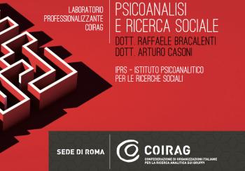 """LABORATORIO COIRAG – """"Psicoanalisi e ricerca sociale"""""""