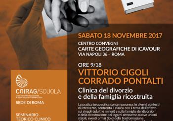 """SEMINARIO TEORICO – CLINICO – """"Clinica del divorzio e della famiglia ricostruita"""""""
