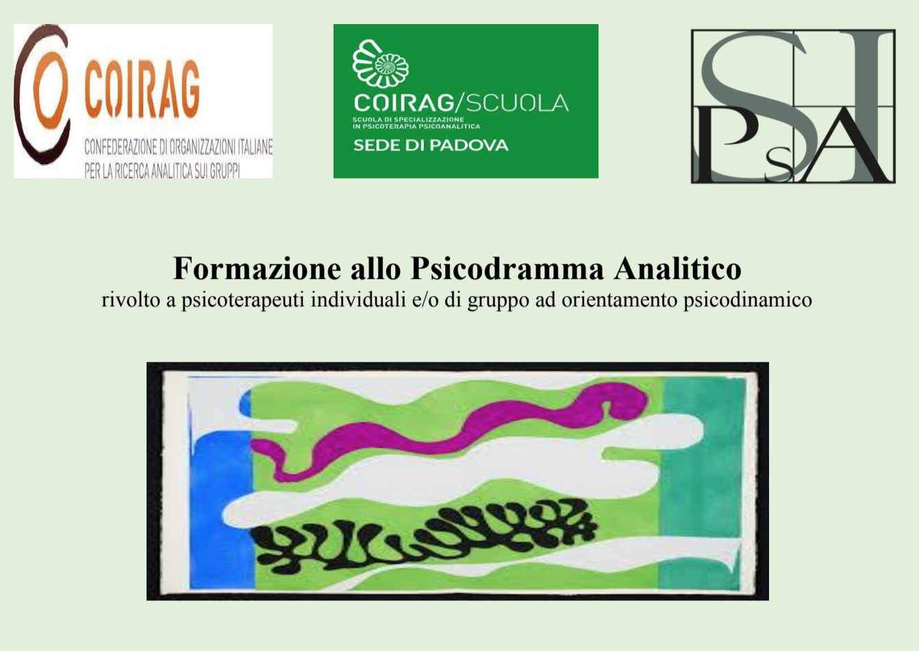"""CICLO DI INCONTRI – """"Formazione allo Psicodramma Analitico"""""""