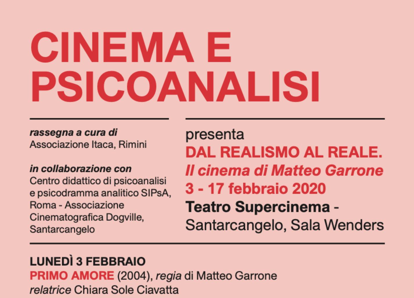 "RASSEGNA – ""Cinema e Psicoanalisi"""