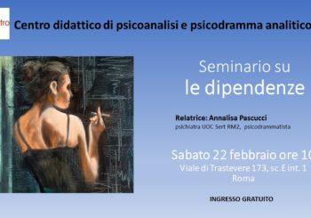 "SEMINARIO – ""Le dipendenze"""