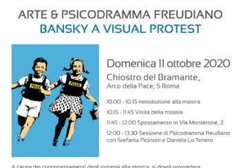 Arte & Psicodramma Freudiano_Bansky a visual protest